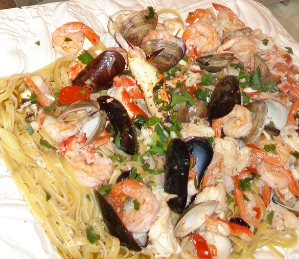 Surf and turf pasta recipes